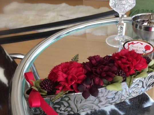 銀座でアートフラワー💐母の日に手作りプレゼント!の画像