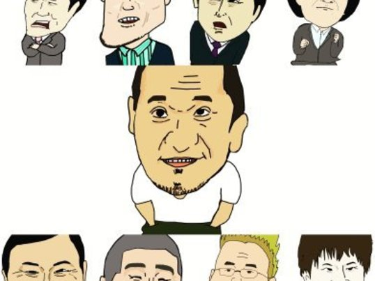 【オンライン】マンガチックな似顔絵の描き方講座ー1時間で上達ーの画像