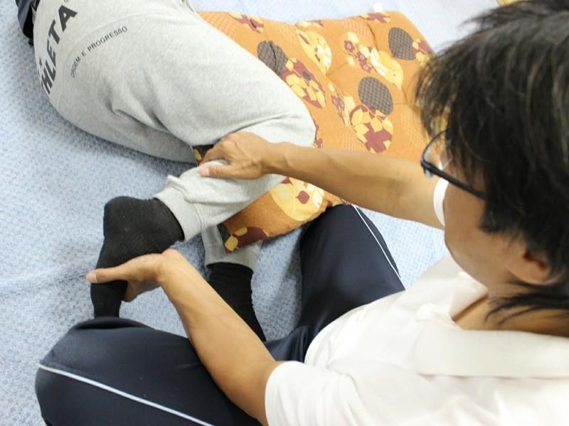 膝の成長痛の緩和のための他動的運動(ASCストレッチ)の習得講座の画像