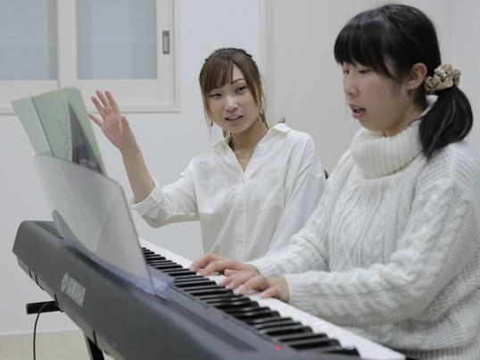 ボーカルレッスン&ピアノレッスン生徒募集の画像