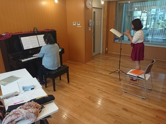 声楽レッスン【ピアニスト付き】の画像
