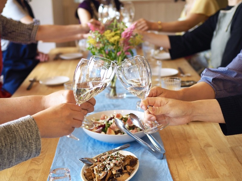 日本酒マリアージュ料理教室〜日本酒 × 体に優しい発酵食料理〜の画像