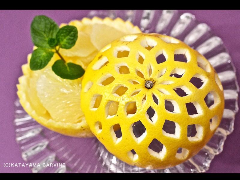 【おもしろいグレープフルーツのむき型】講座の画像