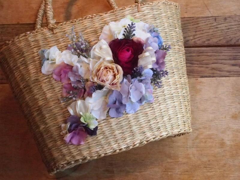 【初心者歓迎・大人気】素敵女子のお花のカゴバックの画像