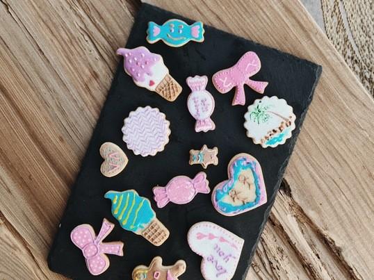初心者でも簡単に出来るアイシングクッキーのコツを教えします。の画像