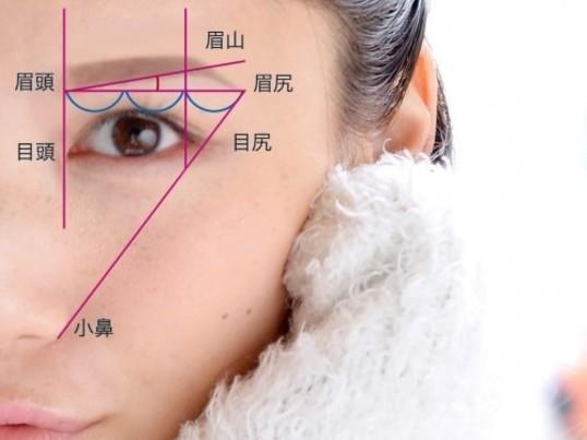【愛され顔シリーズ②】【眉はお顔の額縁】眉の描き方トレーニング♫の画像