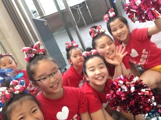 小学新1.2年生で新たなチームを作ります☆楽しくチアダンス☆の画像