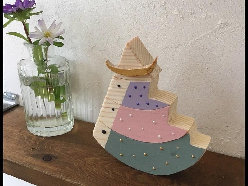 親子ワークショップ『組木のこいのぼり』の画像