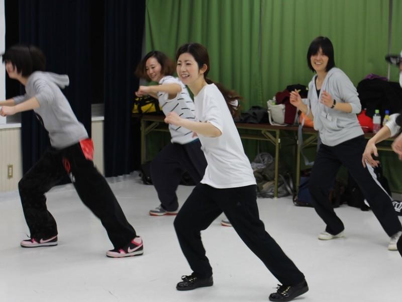 流行りの楽曲で楽しく踊ろう!リズムダンス振付の画像