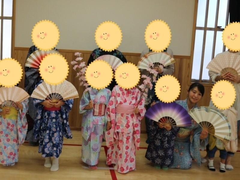 お子様・学生対象 楽しい日本舞踊の画像