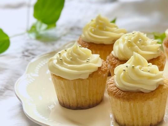 【季節のお菓子クラス】レモンのカップケーキの画像