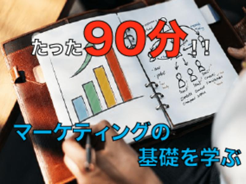オンライン開催【入門編】90分!マーケティングってなに??を解消の画像