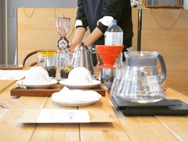 【初級編】ハンドドリップで美味しく珈琲を入れようの画像