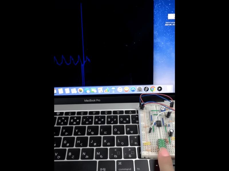 脈拍・脈波センサの仕組みを作って解明する体験型講座の画像
