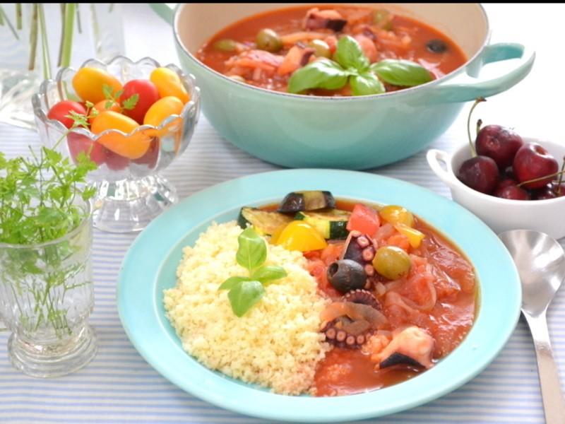 野菜料理のおもてなし、トマトづくしのフルコースレッスンの画像