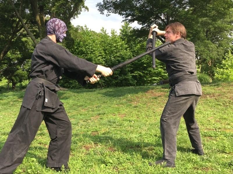 古武道-初心者から上級者まで-外国人先生の画像