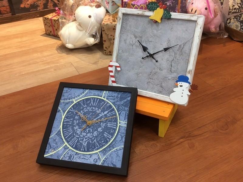 輸入壁紙を貼って時計を作ろう!の画像