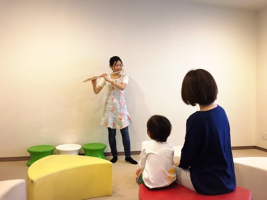 0歳からの音楽鑑賞講座♪フルートの音色で感性を育てよう!の画像