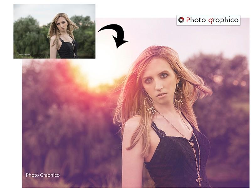 Photoshop色調補整レタッチ術!インスタ映えする写真に編集!の画像