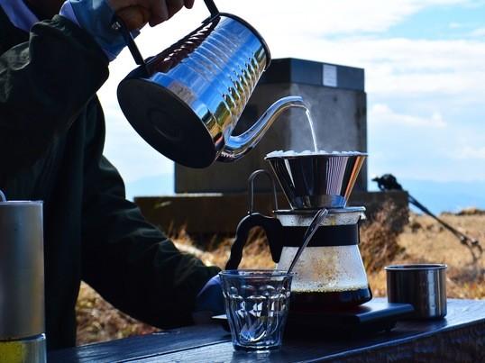 【月一開催】大自然の中で飲む珈琲は格別!山頂珈琲 (立花山)の画像