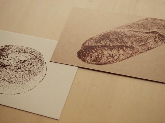 はじめての謄写版体験「パンを刷ろう」(基本)の画像
