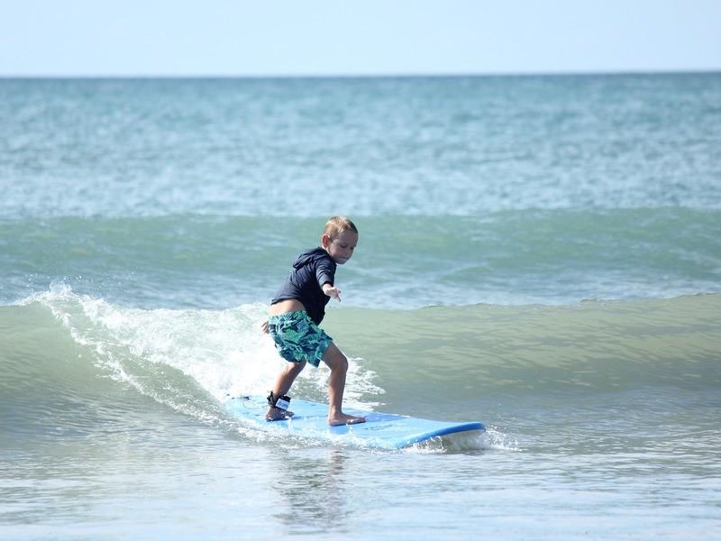 サーフィンを覚えて体幹を鍛えてみよう!(室内体験工作実習)の画像