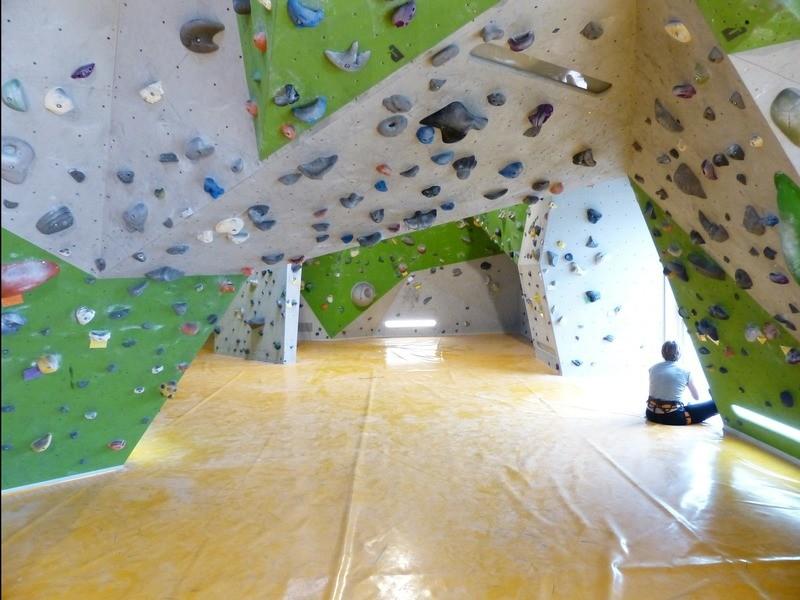 クライミングの壁を作って登ってみよう!の画像