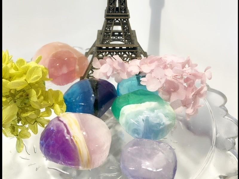 アロマティカメソッド M&P宝石石鹸 体験コースの画像