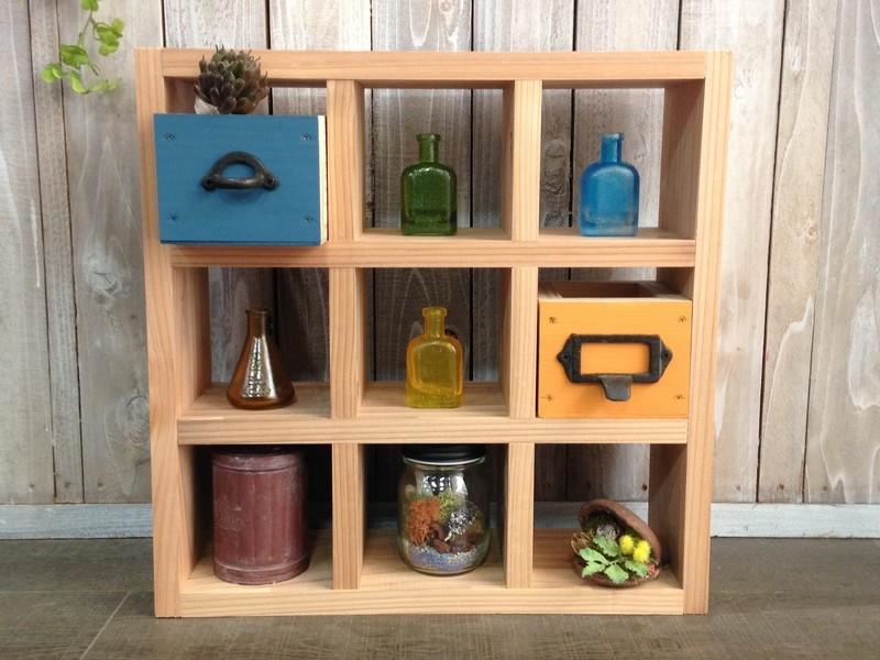 【親子DIY教室】小箱付き飾り棚の画像