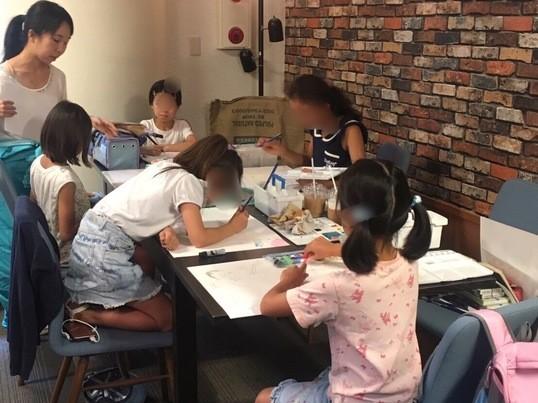 お子様の夏休みの宿題をサポート★こどもの絵画教室〜アトリエ125〜の画像