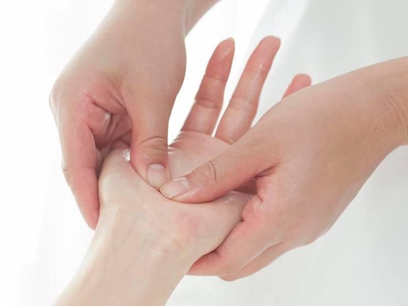 すぐに使える手のひらリフレ◎触れ合う心地よさを体験・実践の画像