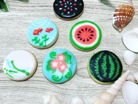 夏の想い出をアイシングクッキーにしちゃおう♪の画像