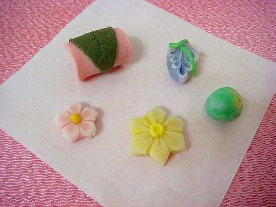 ミニチュア和菓子フィギアを作ろう♪の画像