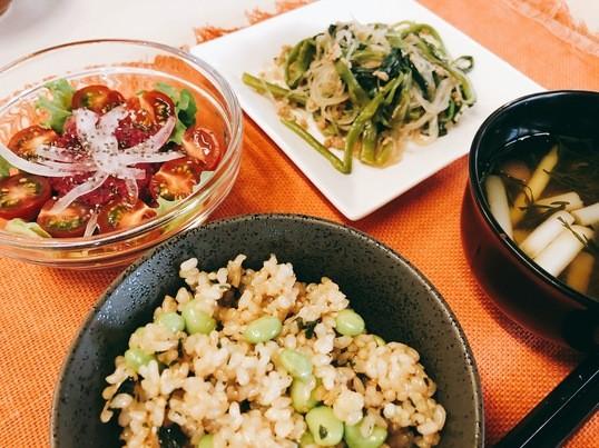 【ZOOMも可能】季節の1レッスン!旬の季節野菜をとりいれよう♪の画像