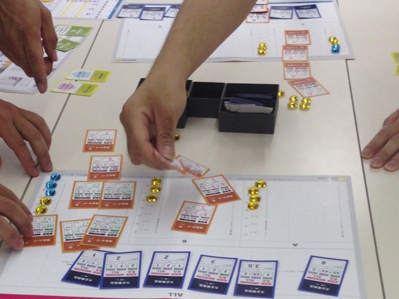 ボードゲームで!楽しく経営が学べるビズストームベーシックセミナーの画像