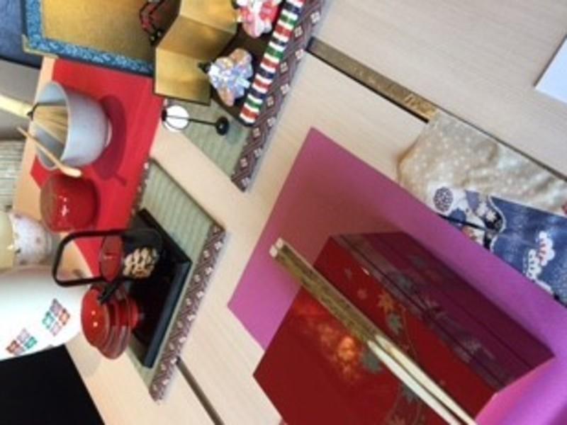 茶のある暮らしを!テーブル茶の湯ワークショップin銀座 X'masの画像