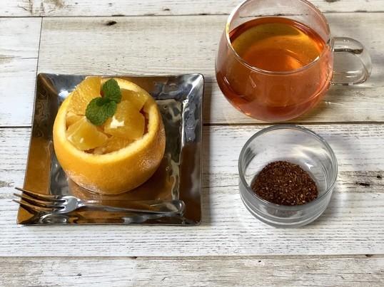 ハロウィンカラー!オレンジ色のハーブティー「ルイボス」を味わう会の画像
