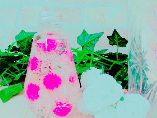球ボトルで作る♪かわいいボンボン♡の画像