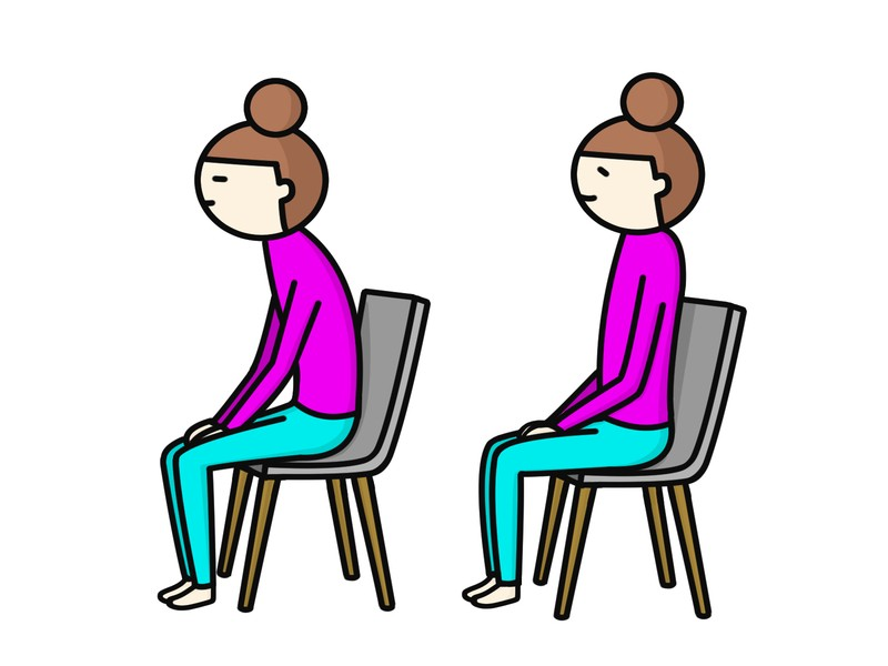 首を痛めず仕事ができる姿勢を作る講座②首の位置感覚・習得編の画像