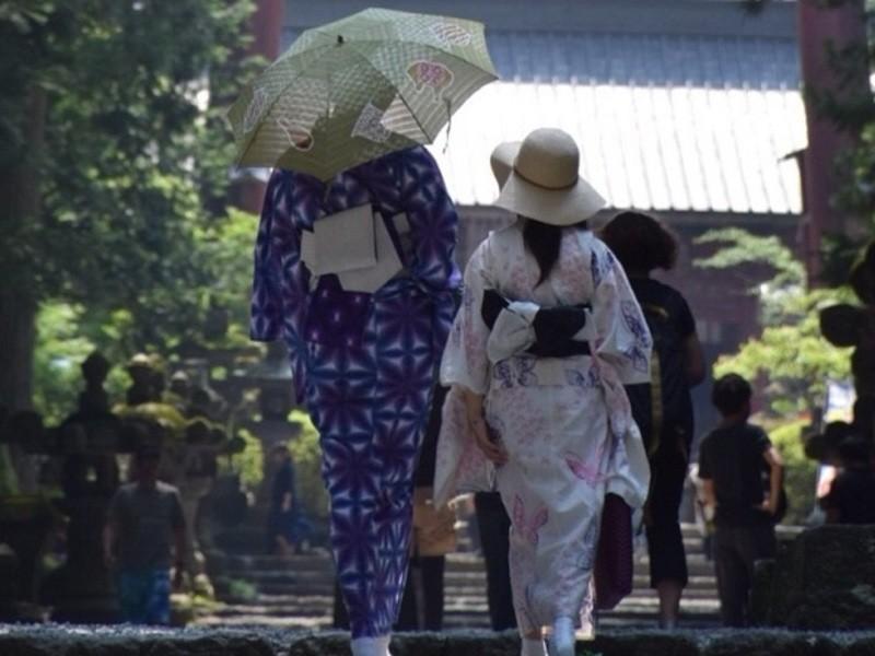きもの講師と行く神社~和服歩き・神社参拝~の画像