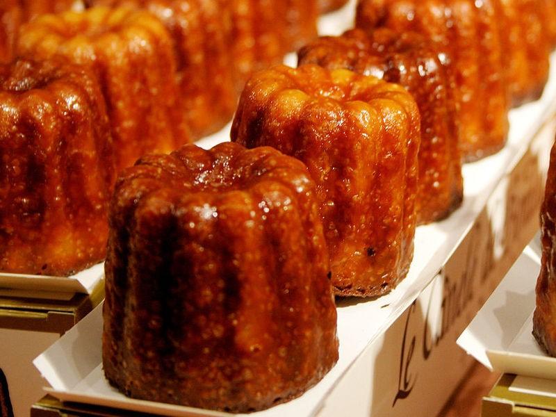 憧れのフランス菓子「カヌレ・ド・ボルドー」を手作りで♡女性限定の画像