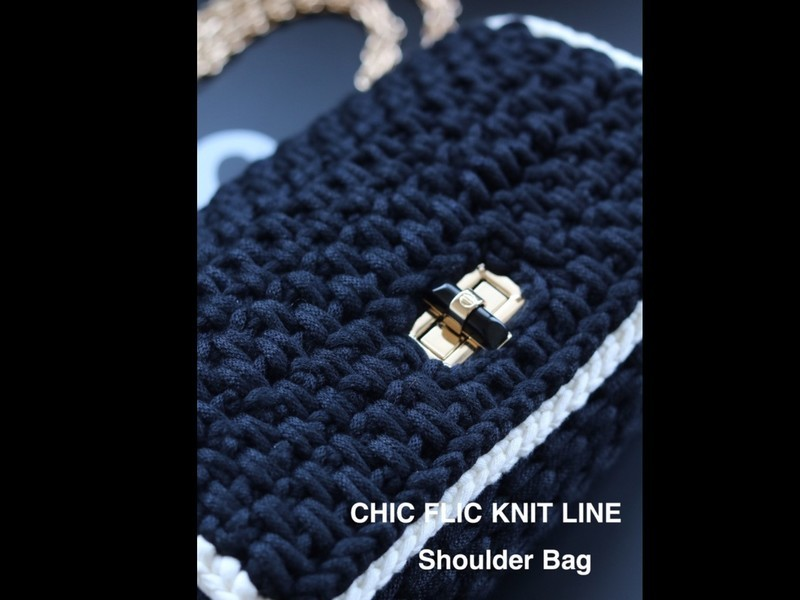 CHIC FLIC Knit Line ShoulderBagの画像