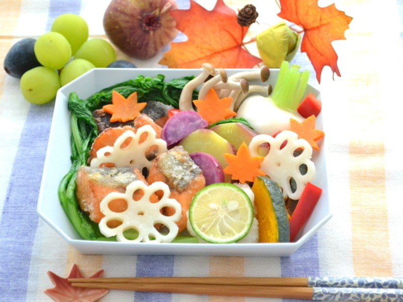 食欲の秋!ヘルシー和食のおもてなしの画像