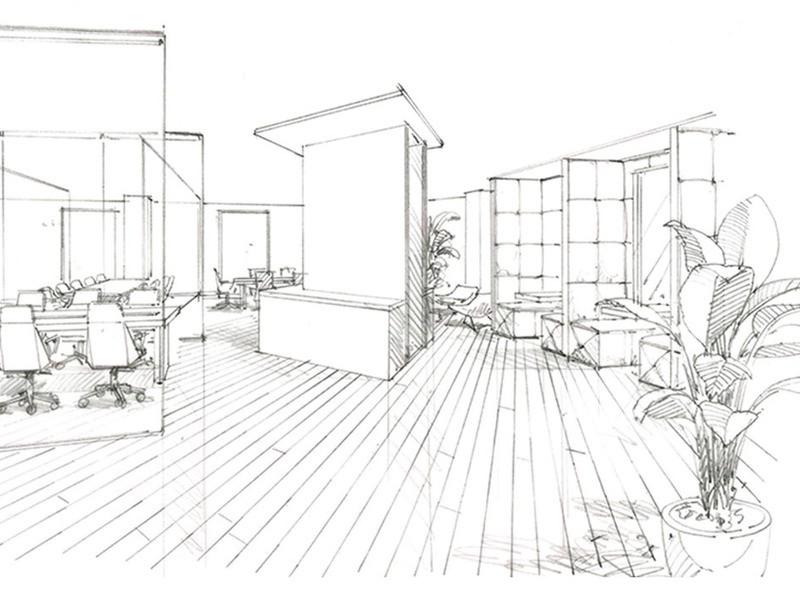透視図法を学んで風景画・背景・建築パースを描こうの画像