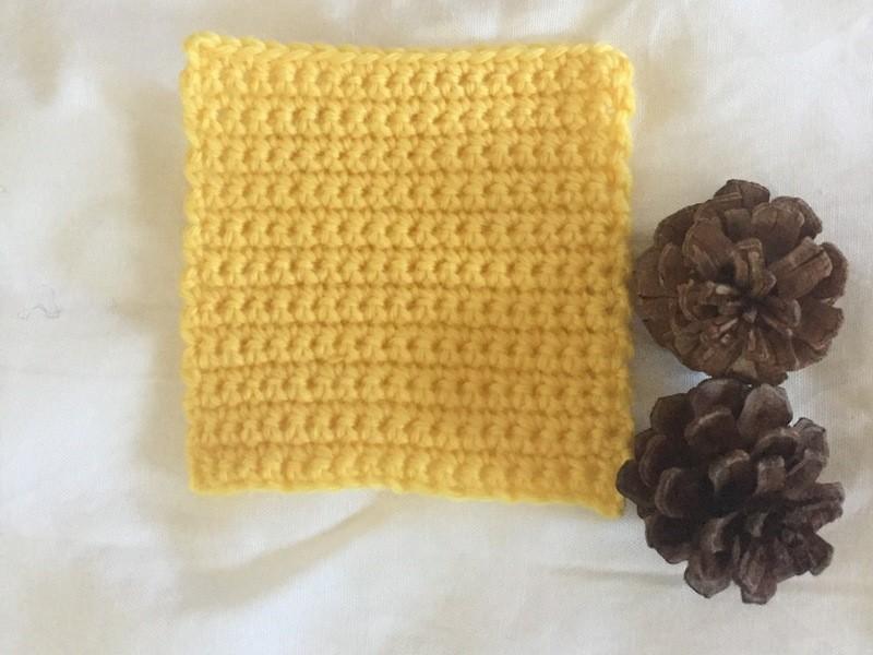 【レッツ・チャレンジ!】編み物はじめてさんの「かぎ針編み」レッスンの画像