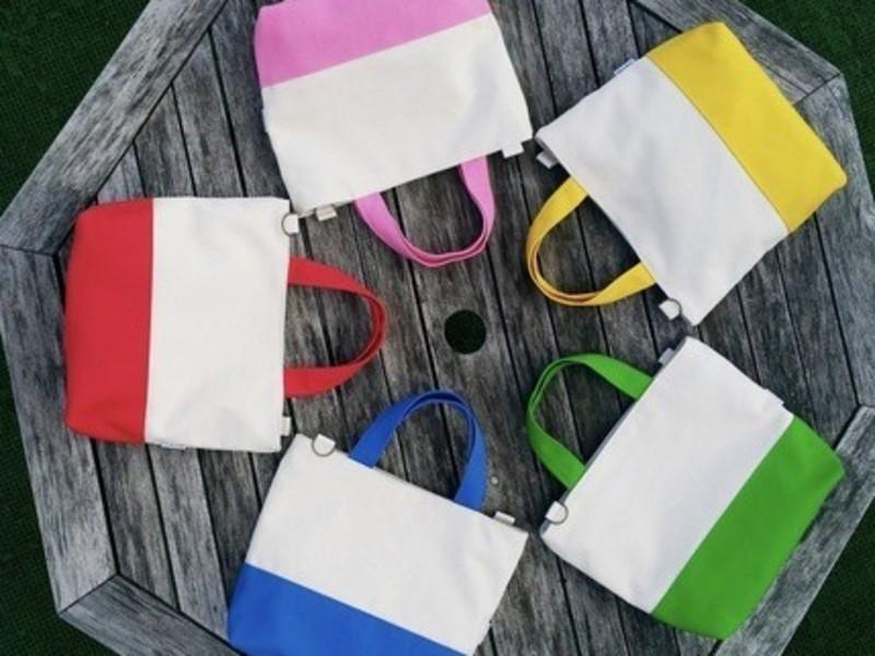 【2回コース】国産帆布でトートバッグ製作♡の画像