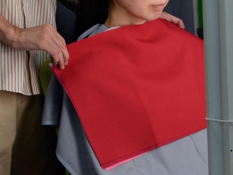 【グループ】色が正しく見える標準光で行うパーソナルカラー診断の画像
