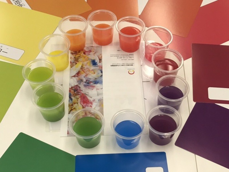 12色の色で万華鏡を彩ろう 子ども色彩知育コラボ企画の画像