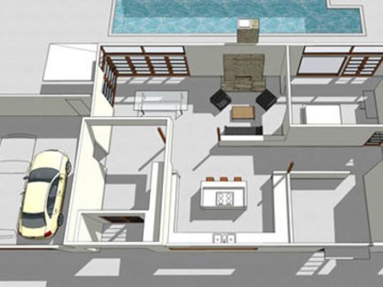 【3Dモデリング超入門】SketchUPカフェ【実践編2回コース】の画像