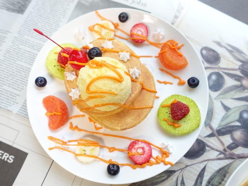 パーツから作る食品サンプルスイーツの画像